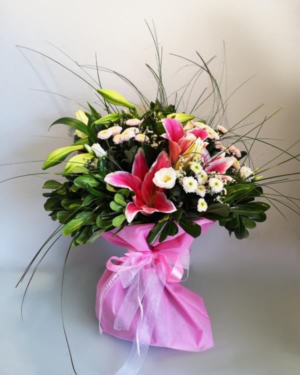 Pink Blast Bouquet