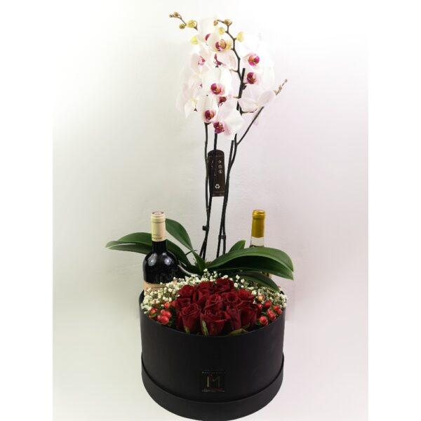 Ορχιδέες, Τριαντάφυλλα και Κρασί
