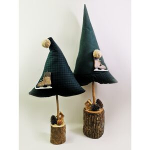 Christmas Pillow Trees Πράσινα Σετ
