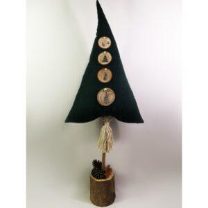 Christmas Pillow Δεντράκι Πράσινο Wood