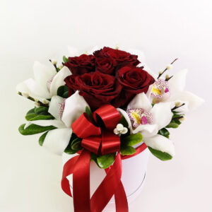Orchids & Roses Box